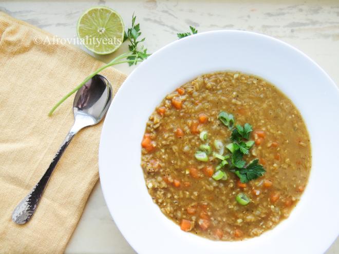 pilau masala red lentils