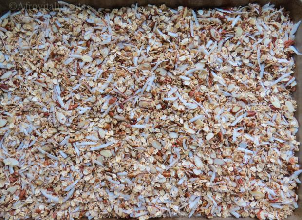 crunchy nutty granola