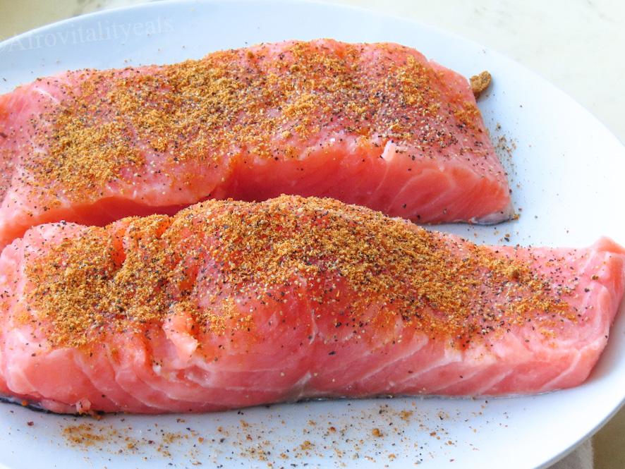 salmon sliders
